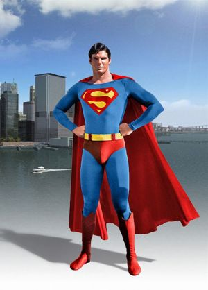 Superman Key art