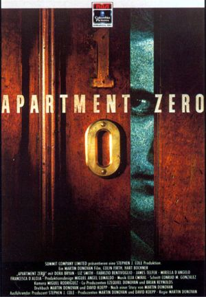 Apartment Zero Dvd cover