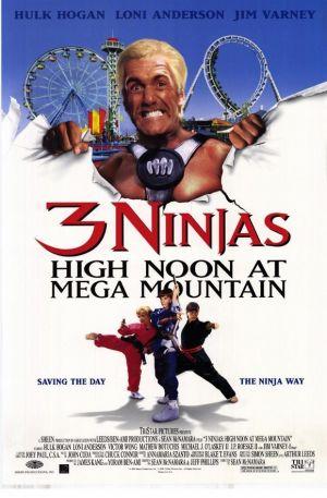 3 Ninjas: High Noon at Mega Mountain 580x884