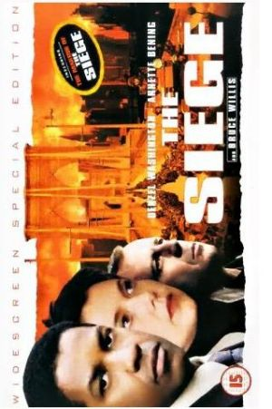 The Siege Vhs cover