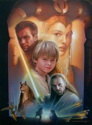 Star Wars: Episodio I - La amenaza fantasma 563x763
