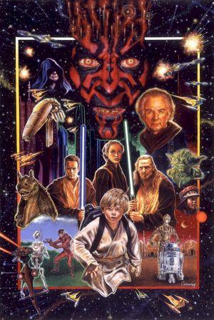 Star Wars: Episodio I - La amenaza fantasma 601x900