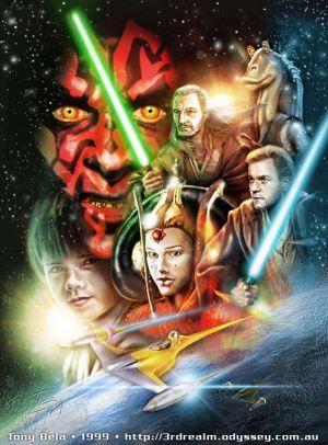 Star Wars: Episodio I - La amenaza fantasma 567x768