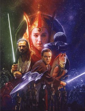 Star Wars: Episodio I - La amenaza fantasma 674x873