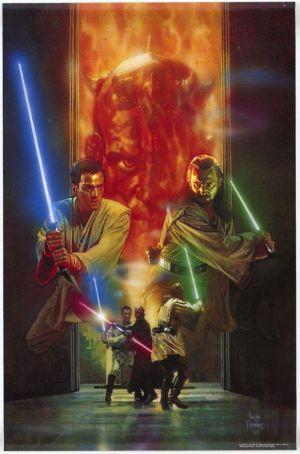 Star Wars: Episodio I - La amenaza fantasma 580x878