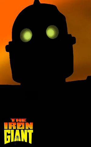 The Iron Giant Vhs cover