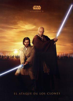 Star Wars: Episodio II - El ataque de los clones 1714x2362