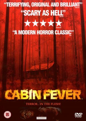 Cabin Fever Dvd cover