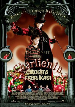 Charlie and the Chocolate Factory 490x702