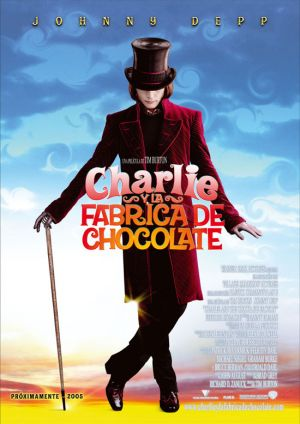 Charlie and the Chocolate Factory 550x778