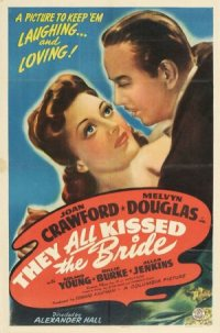 They All Kissed the Bride poster