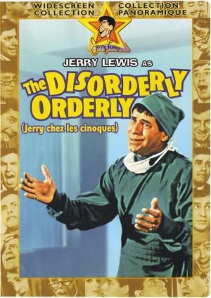 The Disorderly Orderly Dvd cover