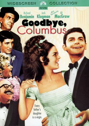 Goodbye, Columbus Dvd cover