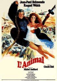 L'animale poster