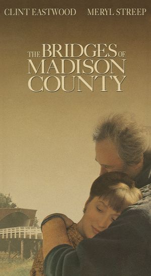 The Bridges Of Madison County Vhs cover