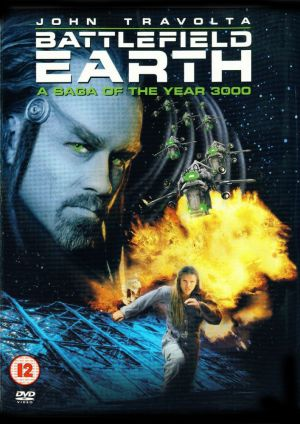 Battlefield Earth: A Saga of the Year 3000 Dvd cover
