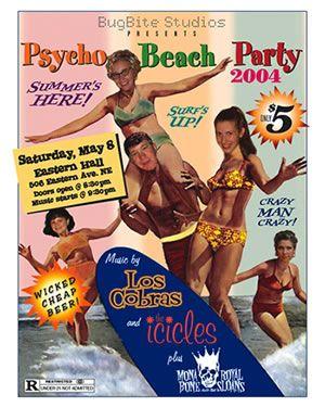 Psycho Beach Party 300x375