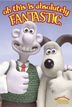 Wallace & Gromit in The Curse of the Were-Rabbit Poster
