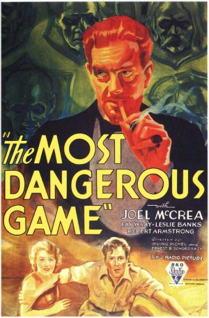 The Dangerous Game Poster