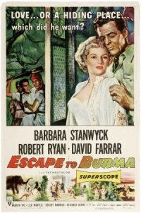 Escape to Burma poster