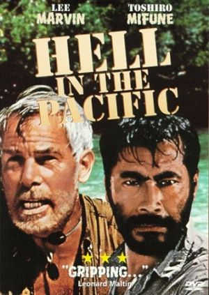 Hell in the Pacific Dvd cover