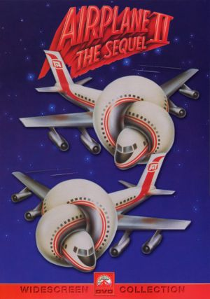 Airplane II: The Sequel Dvd cover