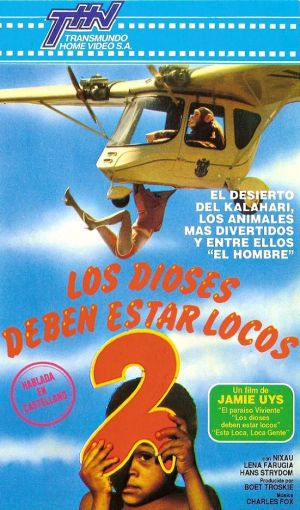 The Gods Must Be Crazy 2 Vhs cover