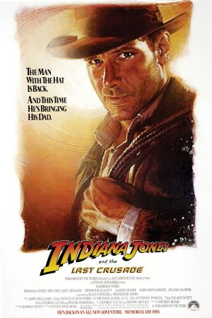 Indiana Jones and the Last Crusade Advance poster