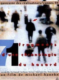 71 Fragmente einer Chronologie des Zufalls poster