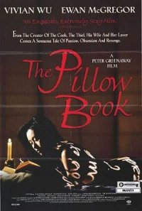 The Pillow Book poster