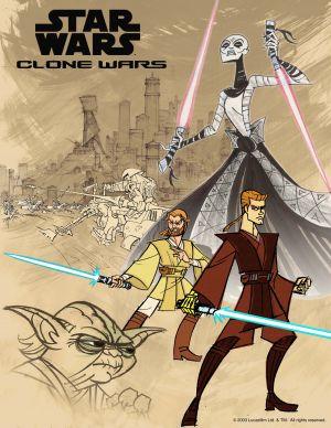 Star Wars: Clone Wars 2550x3300
