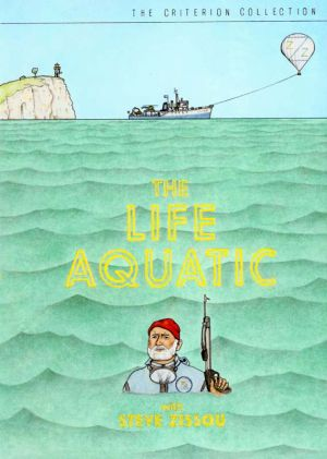 The Life Aquatic with Steve Zissou Dvd cover