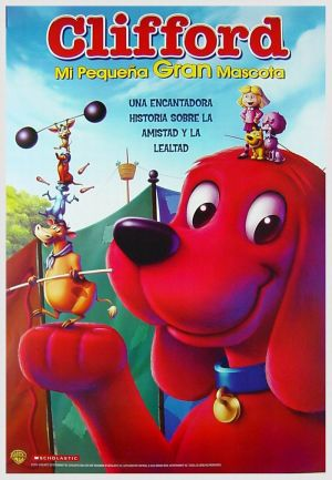 Clifford's Really Big Movie Dvd cover