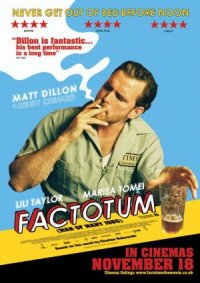 Factotum: A Man Who Performs Many Jobs poster