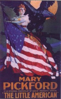 The Little American poster