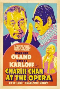 Charlie Chan at the Opera poster