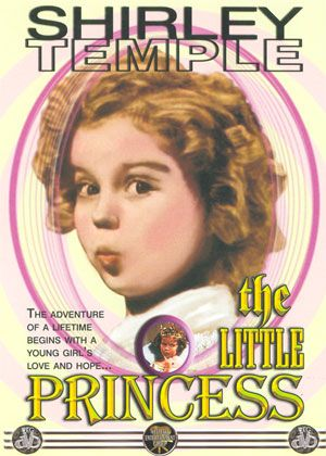 The Little Princess Dvd cover