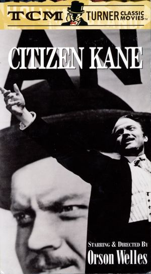 Citizen Kane Vhs cover