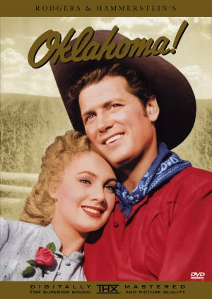 Oklahoma! Dvd cover