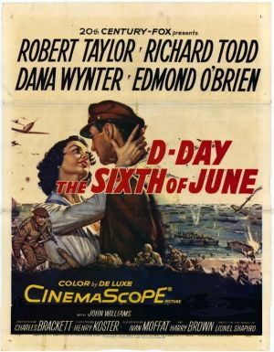 D-Day the Sixth of June Poster