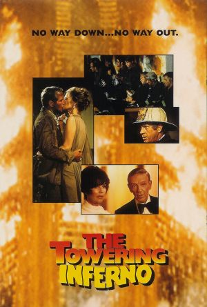 The Towering Inferno Dvd cover