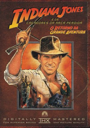 Raiders of the Lost Ark Dvd cover