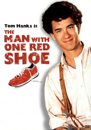 The Man with One Red Shoe Dvd cover