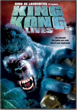 King Kong Lives Dvd cover