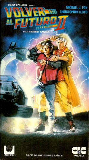 Back to the Future Part II Vhs cover