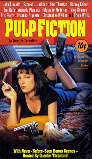 Pulp Fiction Vhs cover