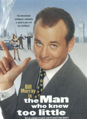 US dvd cover for The Man Who Knew Too Little