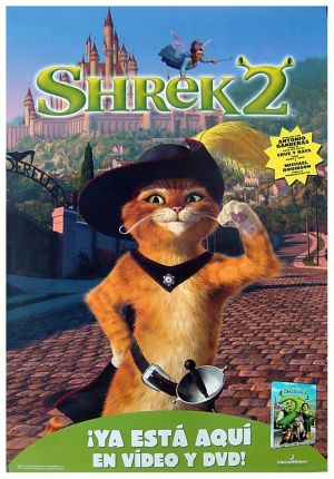 Shrek 2 Video release poster