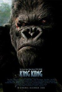 Peter Jackson's King Kong poster