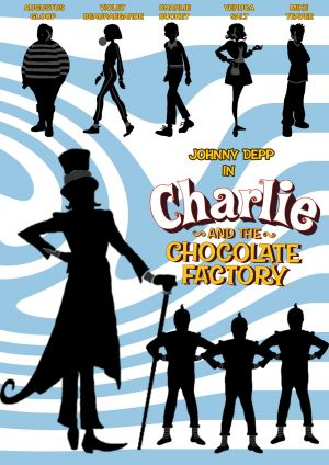 Charlie and the Chocolate Factory 1535x2172